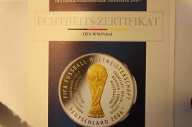 Foto 2 Fußball WM 2006 -Silbermünzen -ab 8 EUR