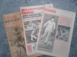 Fußballzeitung FUWO Die Neue Fußballwoche von 1974 bis Letzte Ausgabe