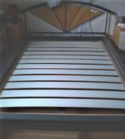 Futonbett Eisen / Holz