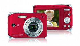GE J1050 Kamera im roten Design (1 Woche alt)