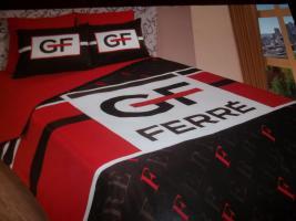 Foto 2 GF FERRE Bettwäsche Set 6 teilig Satin