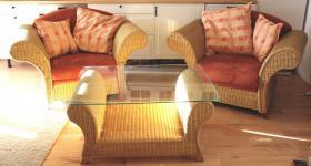 GUTMANN FACTORY Design Rattan Sitzgruppe