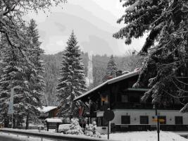 Gästehaus mit 3 und 4 Sterne Fewos und Zimmer an der Gondelbahn beim Skigebiet Winklmoosalm/Steinplatte