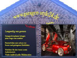 Garagenfotoplanen Neu viele individuelle Bildmotive