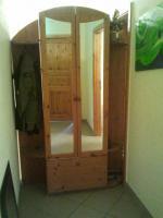 Garderobe aus Kiefernholz