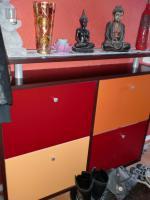 Garderobe, Schuhschrank und Spiegel