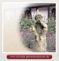 Gargoyle aus Devonshire Steinfiguren Gartenfiguren Steinskulpturen Statuen