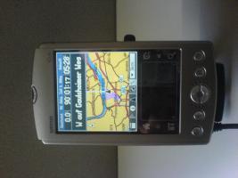 Garmin iQue 3200, Voll integr. GPS, Kfz Ladekabel, Aktiv-Antenne