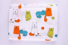 Foto 2 Garnitur Kinderbettw�sche mit Katzenmotiven