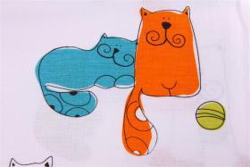 Foto 3 Garnitur Kinderbettw�sche mit Katzenmotiven