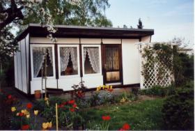 Garten mit Bungalow in Leipzig-Taucha zu verkaufen