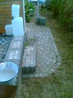 Foto 4 Garten mit Holzhaus Wochenendhaus in Schrebergartenanlage