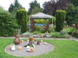 Foto 6 Garten mit Laube in Hannover-Kleefeld