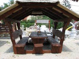 Garten-Pavillon f�r 12 Personen