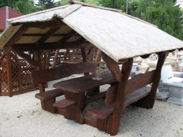 Foto 2 Garten-Pavillon f�r 12 Personen