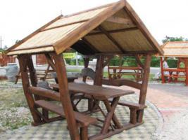 Garten-Pavillon in 3 Gr�ssen