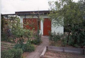 Foto 2 Garten mit massiver Laube in KGV