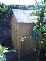 Garten-/Kinderspiel-Häuschen aus Holz