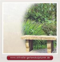 gartenbank aus stein gartenb nke steinb nke sitzb nke in jena. Black Bedroom Furniture Sets. Home Design Ideas