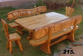 Foto 3 Gartengarnituren aus Massivholz