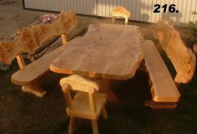 Foto 4 Gartengarnituren aus Massivholz