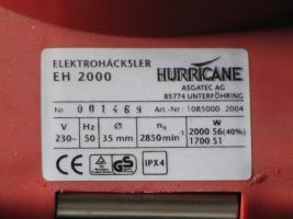 Foto 2 Gartenhäcksler Hurricane