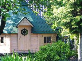 Foto 8 Gartenhäuser, Pavillon, Grillkota, Fasssauna, Saunafass, Saunakota, Grillkota NH 6,9-NH 16,5, nordische Fasssauna, Saunabau, ..