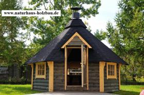 Foto 15 Gartenhäuser, Pavillon, Grillkota, Fasssauna, Saunafass, Saunakota, Grillkota NH 6,9-NH 16,5, nordische Fasssauna, Saunabau, ..