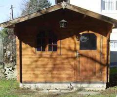 Gartenhaus 3 x 3 m zum Selbstabbau