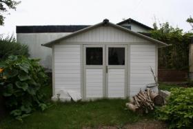 Gartenhaus aus Kunststoff, ca. 350x350, wie neu!