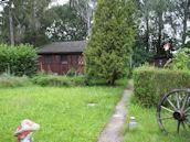 Gartenlaube bzw.Fachwerkhaus
