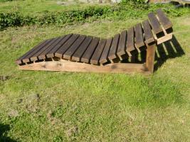 Foto 3 Gartenliege aus Holz