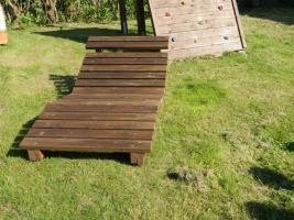 Foto 4 Gartenliege aus Holz
