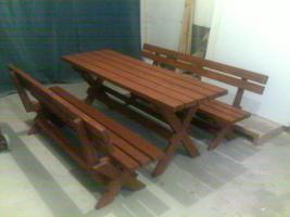 Gartenm�bel aus Holz