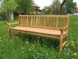 Gartenmöbel, Gartenbank aus Eiche NEU