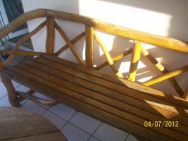 Foto 7 Gartenm�bel, Sitzgruppe, Holz, Gartentisch, Terrassentisch, Bank, Unikat