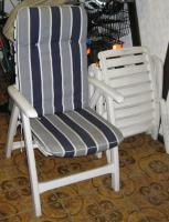 Foto 5 Gartensitzgarnitur Tisch Stühle Bank Auflagen