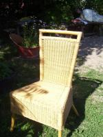 Foto 2 Gartentisch 4 Stühle aus Rattan neuw.