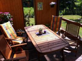 Gartentisch mit 4 St�hlen