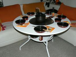 Foto 5 Gartentisch Grilltisch   TischgrillTisch Grill Esstisch Bistrotisch Küchentisch
