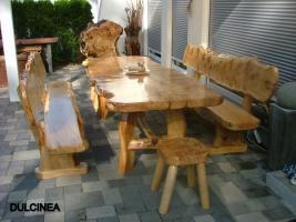 Foto 13 Gartentische, Stühle, Bänke aus Massivholz