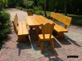 Foto 7 Gartentische, Stühle, Bänke aus Massivholz