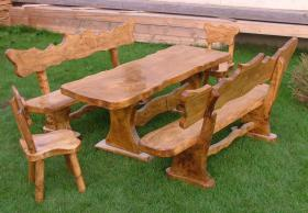 Foto 4 Gartentische, St�hle, B�nke aus Massivholz