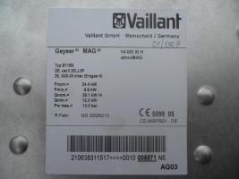 Foto 3 Gas-Durchlaufwasserheizer atmoMAG Vaillant