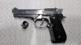 Gas / Schreckschußpistole Reck Miami 92F mit Kompensator PTB 773