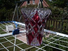 Foto 2 Gebe eine Bleikristallvase von Nachtmann ab.