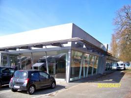 Gebrauchte Abstellhalle/ Gewerbehalle/ Industriehalle/ Lagerhalle/ Stahlhalle