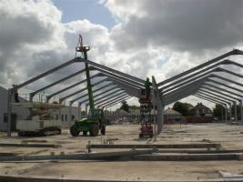 Foto 5 Gebrauchte Abstellhalle/ Gewerbehalle/ Industriehalle/ Lagerhalle/ Stahlhalle