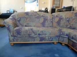 Foto 2 Gebrauchte Couchgarnitur mit Sessel zu verkaufen