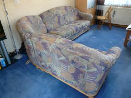 Foto 3 Gebrauchte Couchgarnitur mit Sessel zu verkaufen